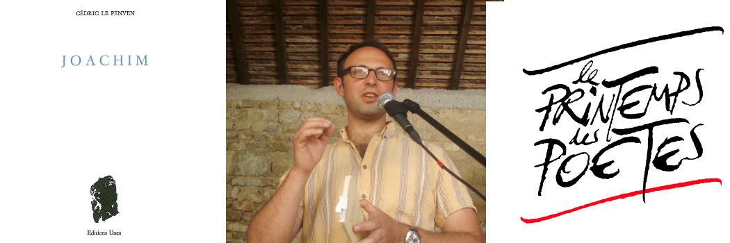 Rencontre avec le poète Cédric Le Penven